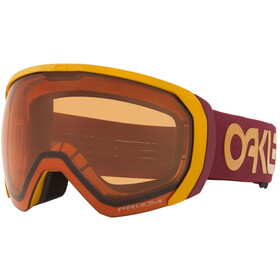 Oakley Flight Path XL Schneebrille Herren FP mustard yellow grenache/prizm snow persimmon